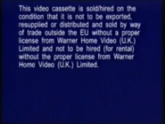 Warner Home Video Warning Screen (1998) (S2)
