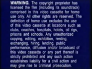 Warner Home Video Warning Screen (1998) (S1)