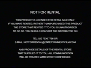 Entertainment in Video Warning (2003) (S1)
