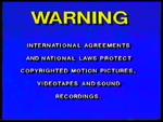 Walt Disney Home Video Piracy Warning (1994) FACT information