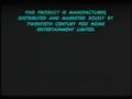 20th Century Fox Warning Scroll 1995 (S2)