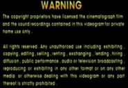 1997 - TVBI Company Limited Warning Screen in English
