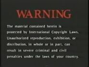 Simitar Entertainment Warning Screen Early Variant (1990-2000)