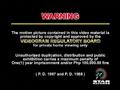 Star Records Warning Screen 3