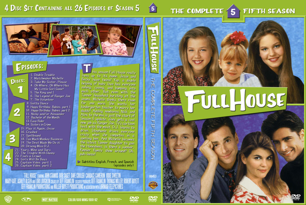 Full House Opening Credits Seasons 1 to 8