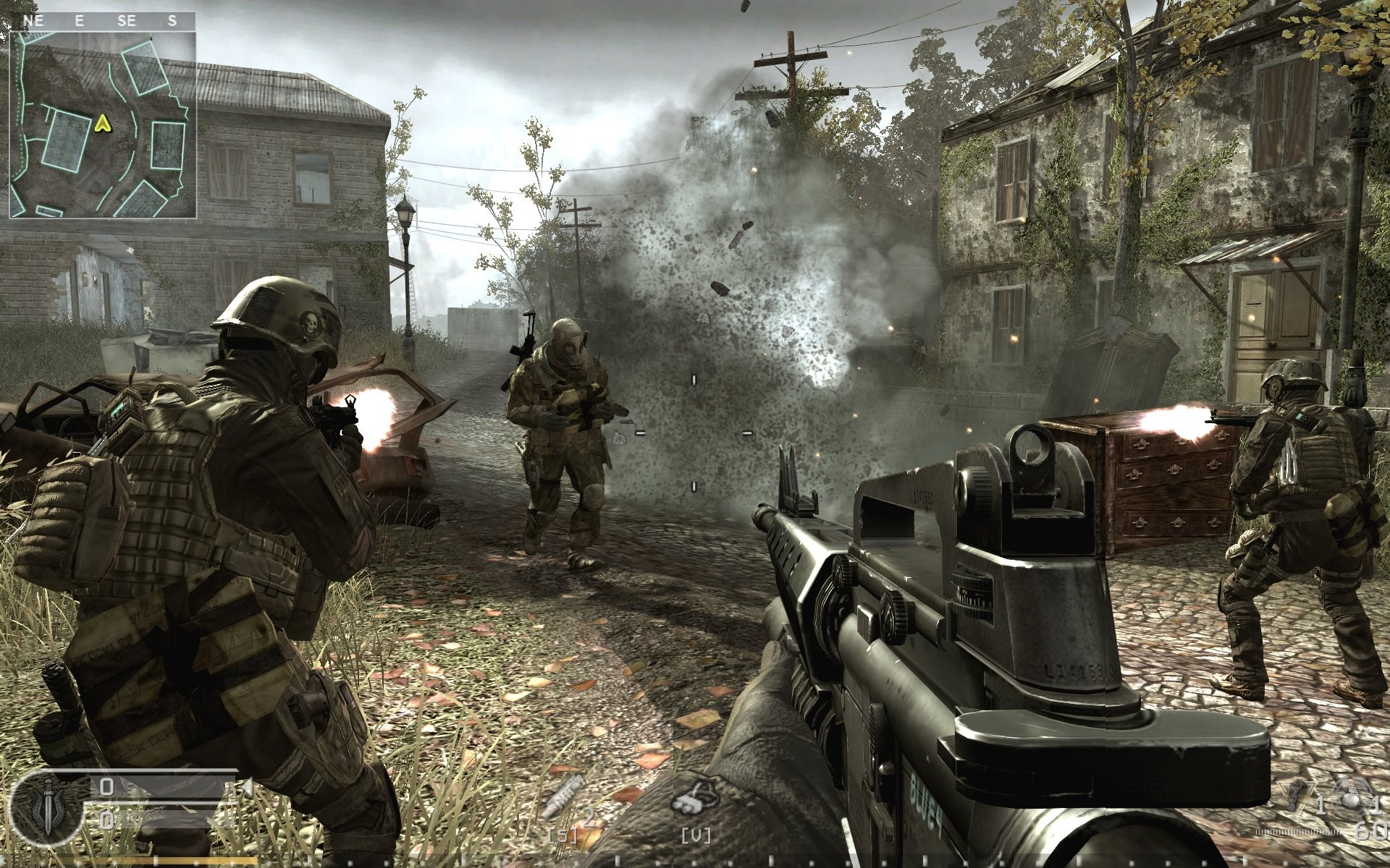 Image result for call of duty 4 gameplay