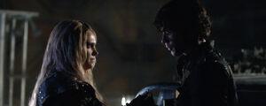 The-100-season-3-episode-12 (Demons)-Bellamy & Clarke