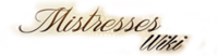 Mistresses Wiki Wordmark