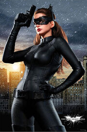 Dark Knight Rises Catwoman poster