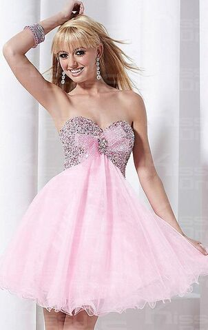 File:Sexy-pink-tulle-a-line-strapless-short-mini-dress-2635-6.jpg