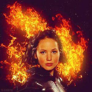 Girl on fire katniss