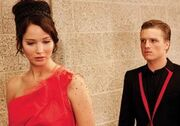 Katniss peeta interviews