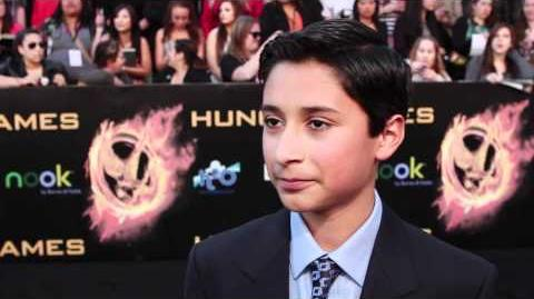 Imanol Yepez-Frias - The Hunger Games Premiere Interview