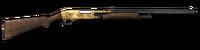 Shotgun pump 12ga gold