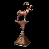 Trophy elk bronze