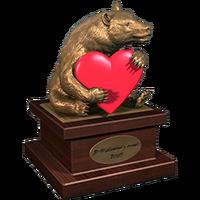 Valentine 2015 BlackBear Trophy Bronze