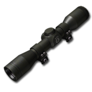 Scope handgun 2to4x 256
