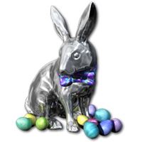Easter 2016 Bunny Silver