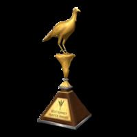 Trophy turkey gold