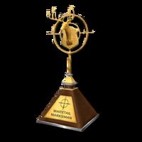 Trophy mm gold