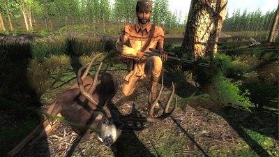 Trophy blacktail deer