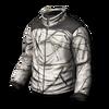 Basic jacket camo winter forest 256