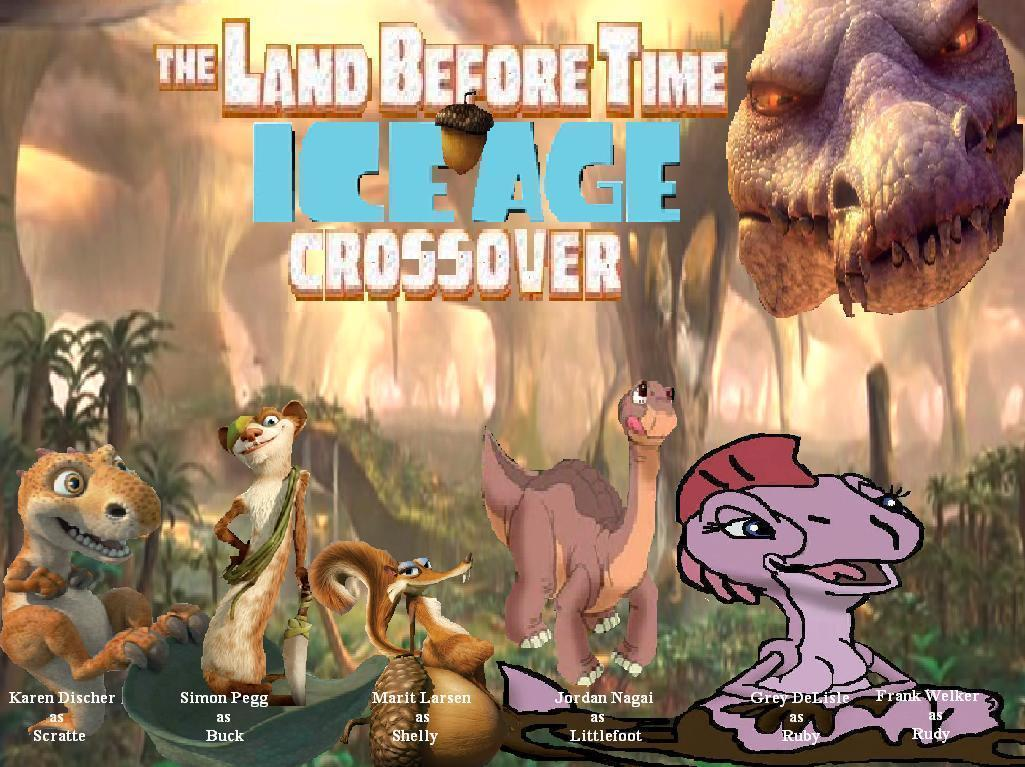 The Land Before Time-Ice Age Ice Age 5 The Revenge Of Red Horn Momma Dino