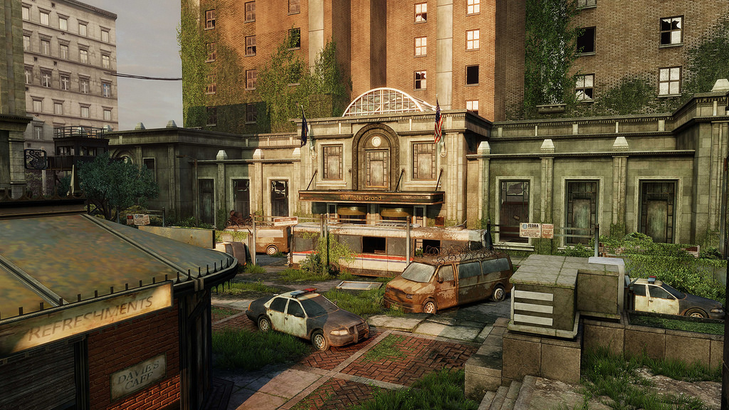 Financial Plaza The Last Of Us Wiki FANDOM Powered By Wikia - Last of us all maps free