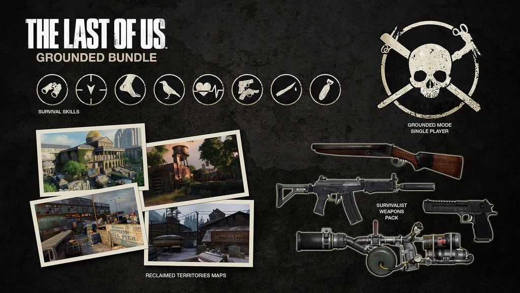 Grounded Bundle The Last Of Us Wiki FANDOM Powered By Wikia - The last of us new maps