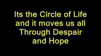 Circle of Life - Broadway Version
