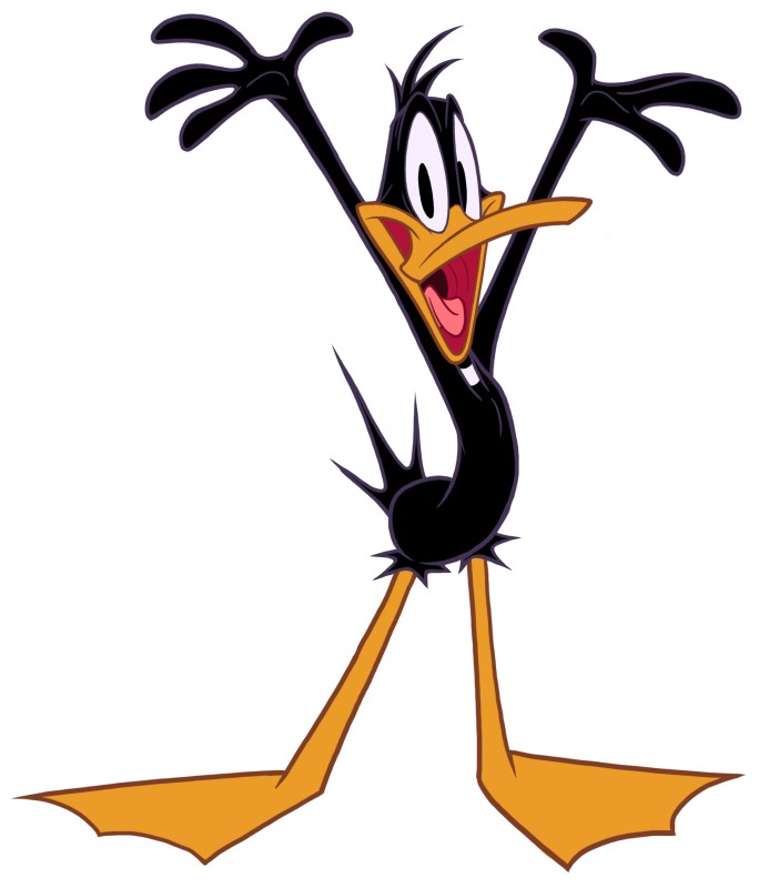 Daffy is a Poor Man  Daffy Duck And Tina Duck
