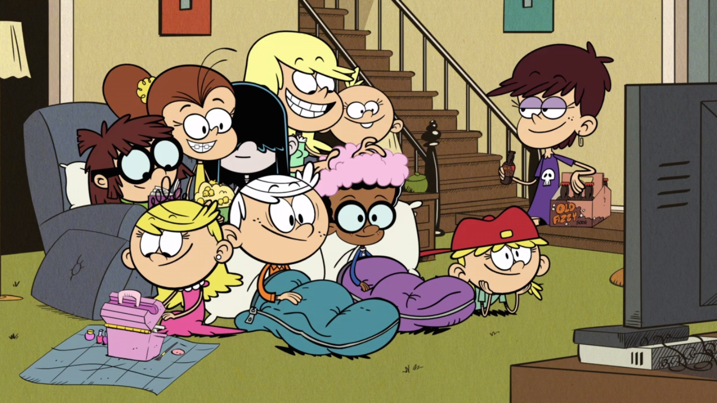 Image The Loud House Characters Cast In Overnight