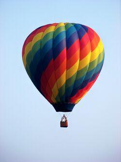 Todd's hot air balloon