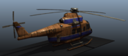 Helicopter rear