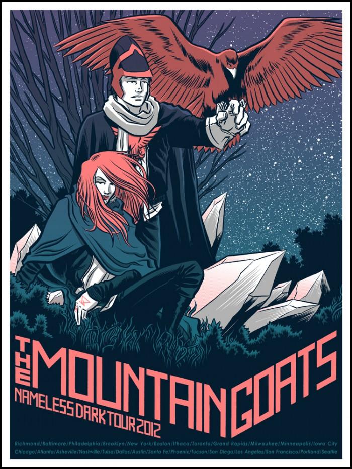 Nameless Dark Tour 2012 The Mountain Goats Wiki Fandom