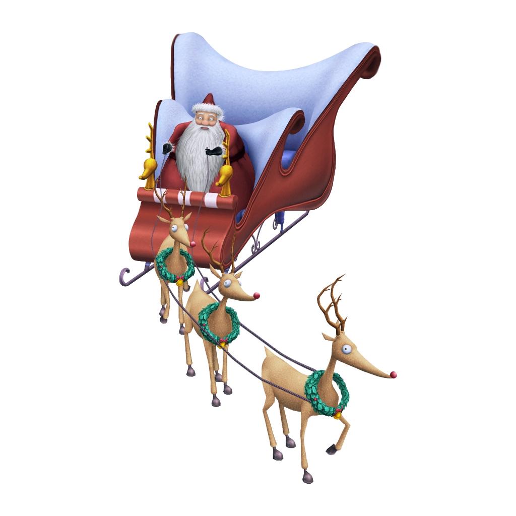 Image - Santa's Reindeer KHII.png   The Nightmare Before ...