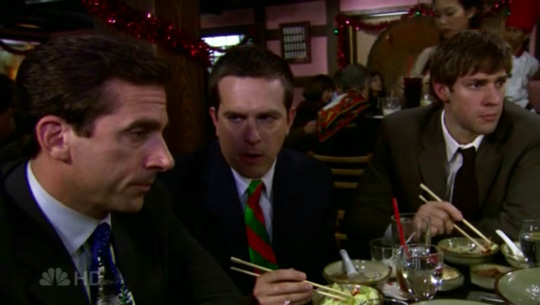 the office season 3 episode 10 a benihana christmas