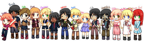 The hunger games characters by camiiie-d3j1om8 large