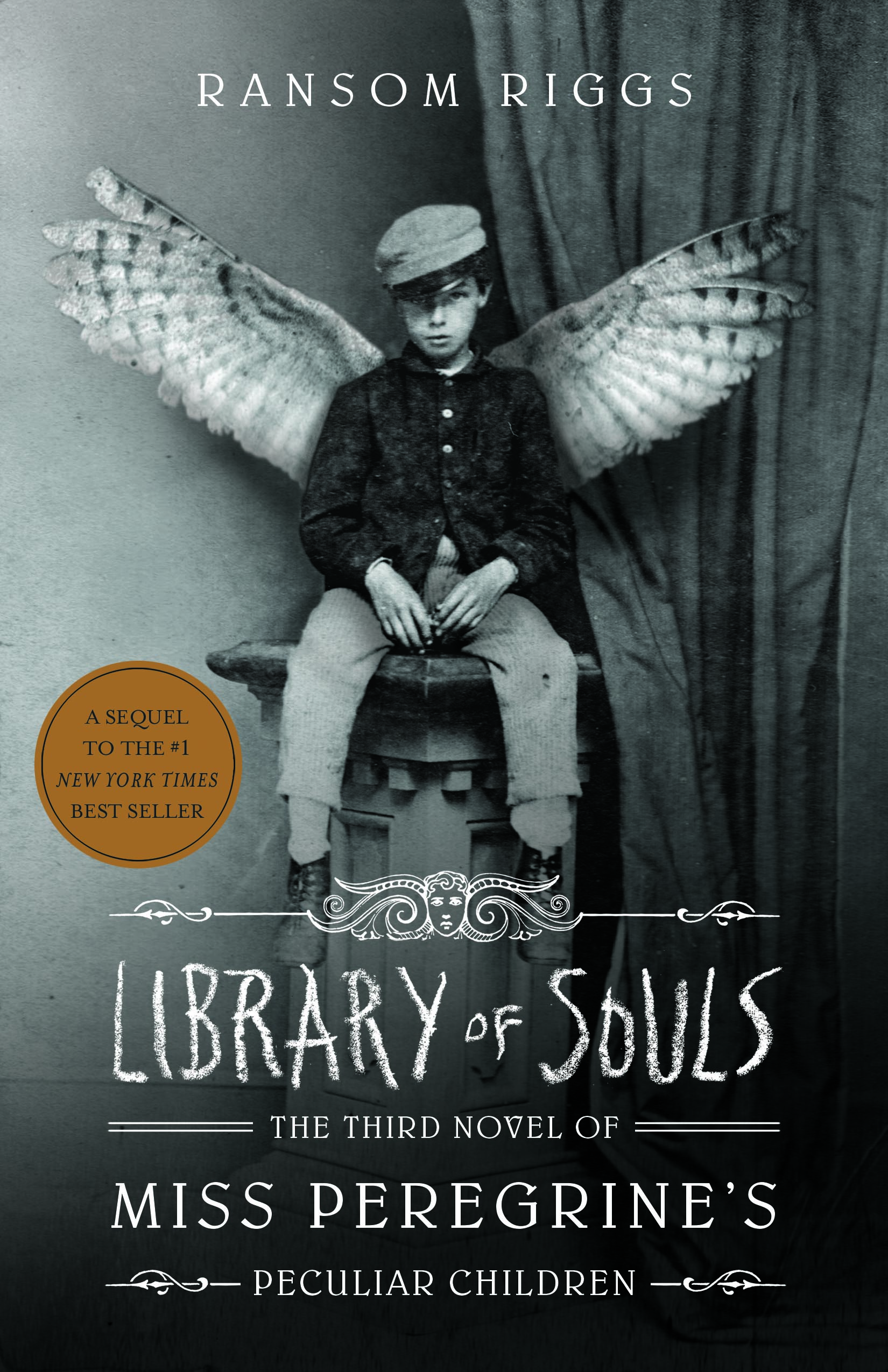 Library of Souls, Review by Emma Suschelnitsky Book Cover