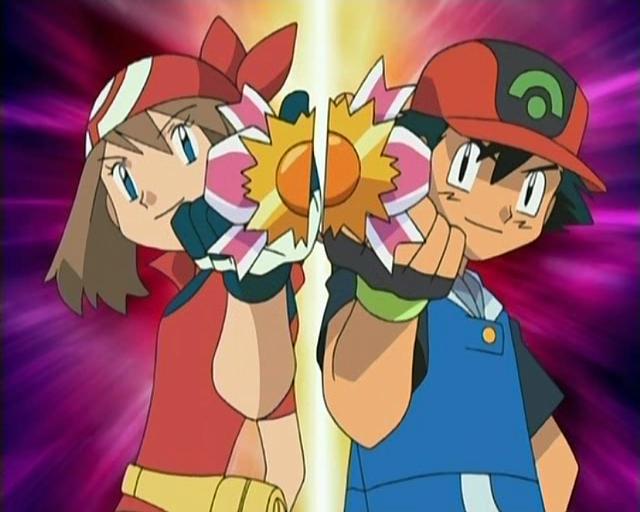 Ash May And Manaphy May And Ash Win a Ribbon