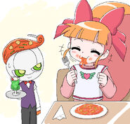 Momoko and Napoletano by cc kk