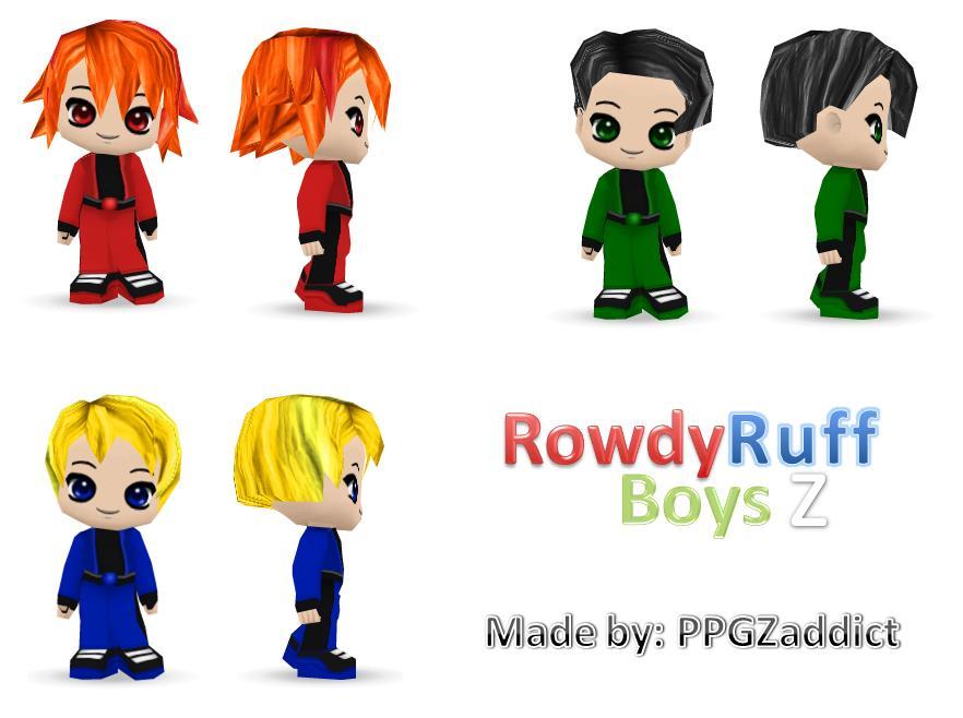 Powerpuff Girls Grown Up Rowdyruff Boys