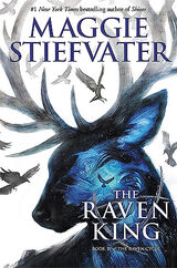 The Raven King, US hardbound cover