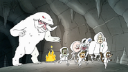 S8E20.097 Everyone Running From the Snow Mammoth