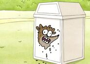 Rigby really is a pile of garbage