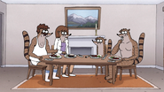 S7E27.047 Everyone Eating Except Rigby