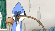 S3E34.117 Rigby Punching Mordecai in the Face