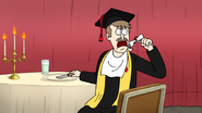 S7E36.194 Principal Dean About to Eat Rigby's Diploma