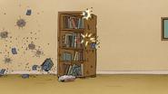 S7E13.156 Beanbags Damaging the Bookshelf