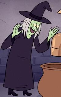 S7E09 Chocolate Witch